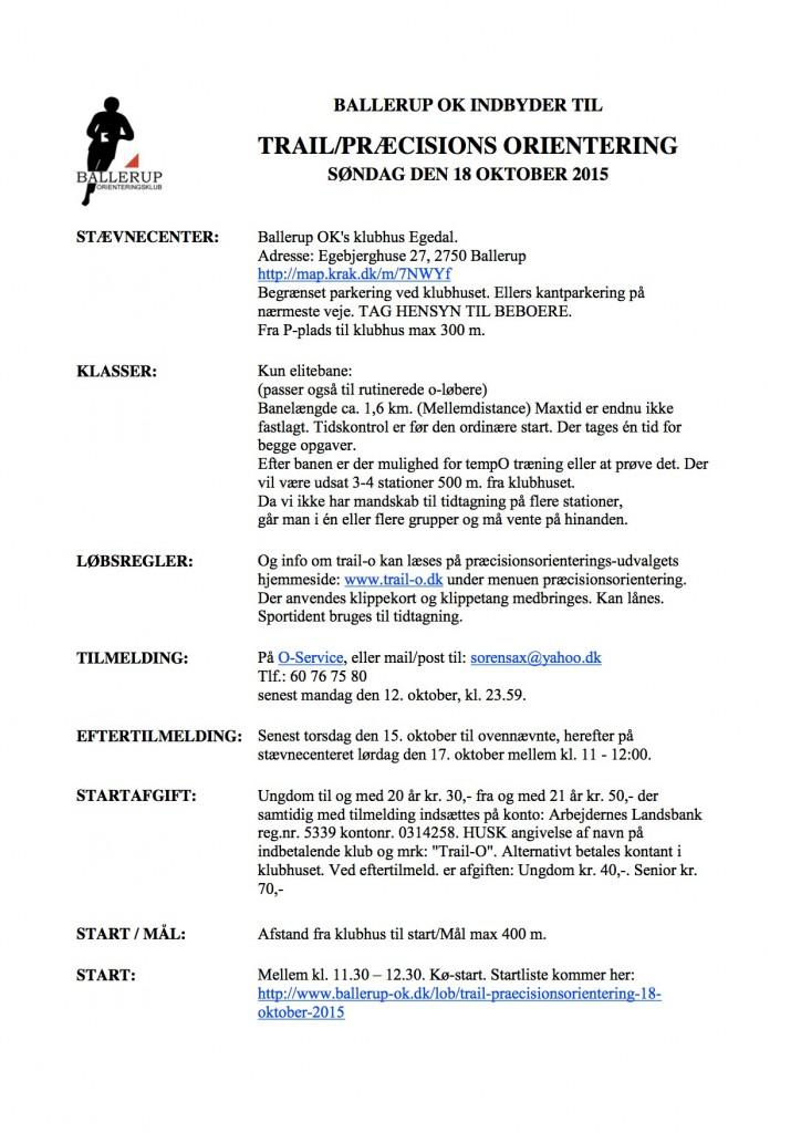 Indbydelse Præo 2015-10-18 Ballerup
